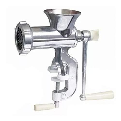 Maquina/moinho de metal para moer carne manual 27x11x26,5cm