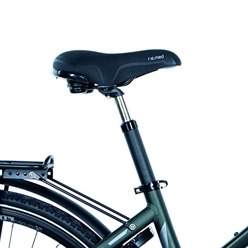 FISCHER Damen – E-Bike Trekking VIATOR 4.0i (2020), grün matt, 28 Zoll, RH 44 cm, Mittelmotor 50 Nm, 48 Volt Akku im Rahmen Bild 3*