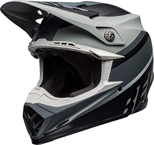 BELL Motocross-Helm Moto-9 MIPS Grau Gr. L
