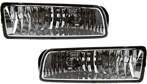 Evan-Fischer Front Fog Light Assembly Compatible with 2003 Ford Expedition To...