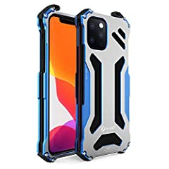 ✅ [Applicable models]: iPhone 11, iPhone 11Pro, iPhone 11Pro max, iPhone XS Max ✅ [Unique design]: Aluminum alloy material, the surface is sandblasted to give the mobile phone case a grainy feel, which is more textured to the touch, smooth edges do n...