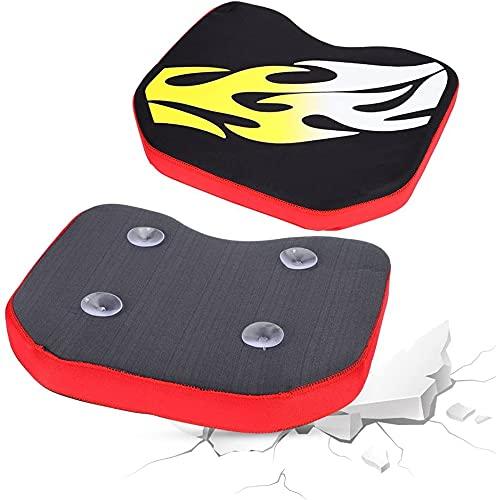 AKAMAS Cojín de kayak cómodo para kayak pesca CAM 3 colores (llama) espesar suave canoa pesca barco cojín cojín con ventosas