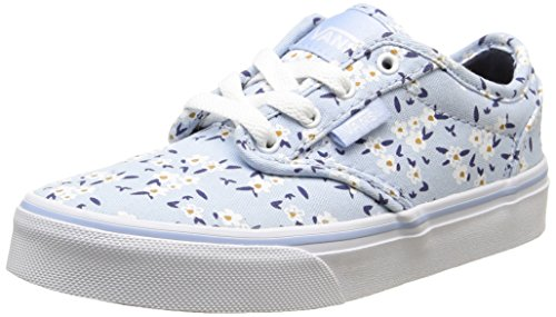 Vans Mädchen Atwood Low-top, Blau (Flower/Light Blue), 31 EU