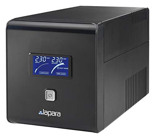 Lapara LA-ITR-2000SH Sistema de Alimentación Ininterrumpida SAI 2000VA 1400W LCD Interactivo Sinusoidal