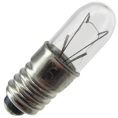 Industrial Performance 1767, 0.5 Watt, T1.75, Midget Screw (E5) Base Light Bulb (1 Bulb)
