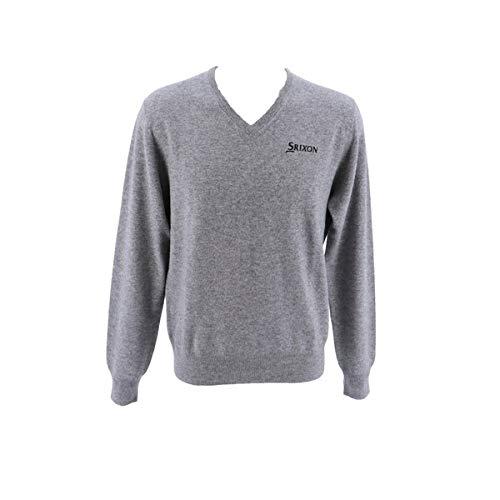 [スリクソン] セーター メンズ SRM2107Y LGR(ライトグレイ) 日本 3L-(日本サイズ3L相当)