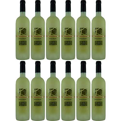Buzbag Klasik türkischer Weisswein Kayra 12% 0,75l (Paket 12x0,75l)