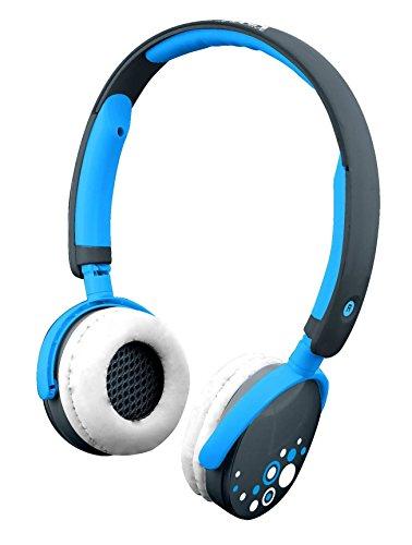 Kurio CI1125GIB - Kopfhörer (Ohrumschließend, Kopfband, Verkabelt, Blau)