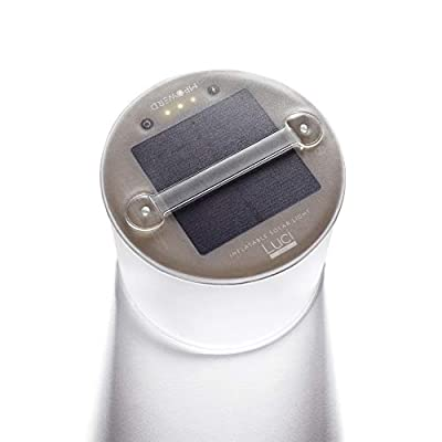 MPOWERD Luci Lux: Solar Inflatable Light | Soft Light That Lasts Long Into the Night | 65 Lumens | Lasts 24 Hours | Matte Finish | No Batteries Needed | Waterproof | Compact | Lightweight