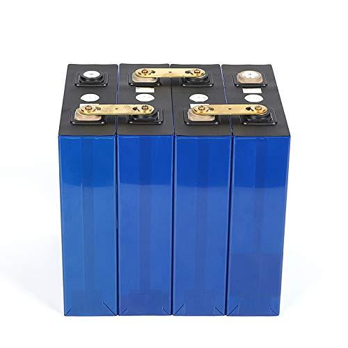 LiFePo4 3.2V 178Ah Celdas de batería for ensamblaje Paquete de baterías de Hierro de Litio 12V 24V 36V 48V 180Ah Ciclo Profundo (Color : 8PCS)