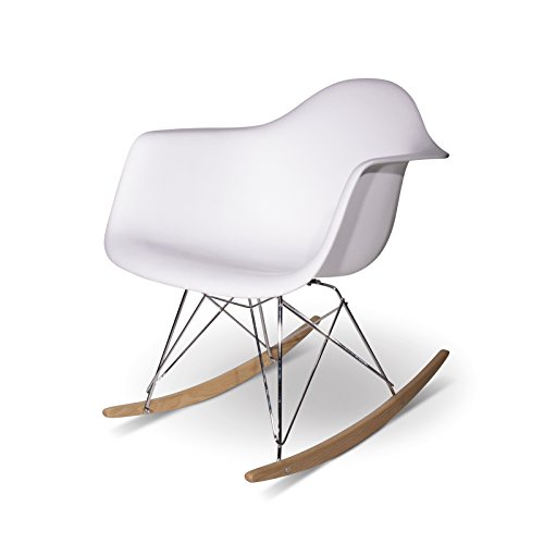 Aryana Home Eames Réplica - Balancín, 69 x 62 x 70 cm, Color Blanco