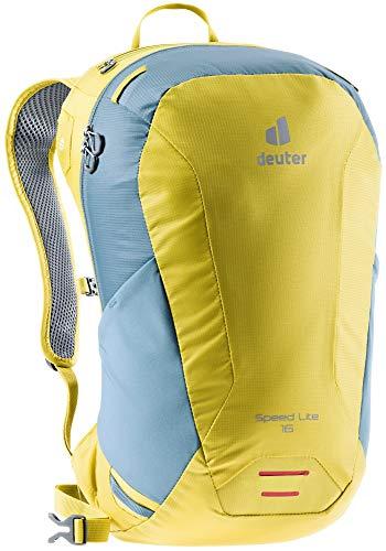 Deuter Unisex– Adult's Speed Lite 16 Hiking Backpack, Greencurry Slate Blue, 16 L