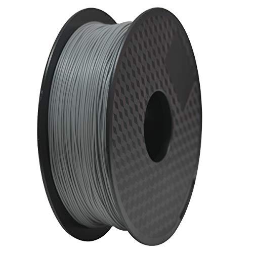 GEEETECH Filament PLA 1.75mm for 3D Drucker 1kg Spool, Grau