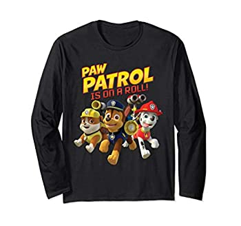 Paw Patrol Is On A Roll Long Sleeve T-Shirt