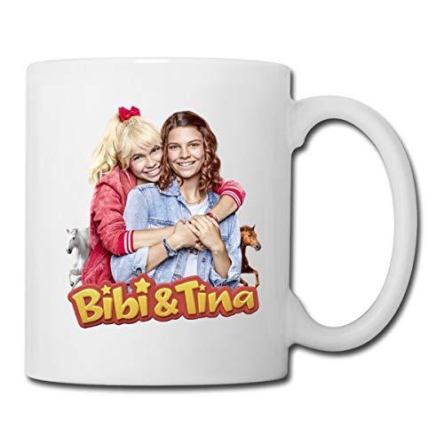 Bibi & Tina Die Serie Freundinnen Tasse, Weiß