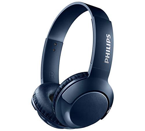 Philips SHB3075 - Auriculares in-ear inalámbricos, color azul