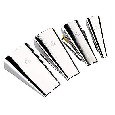 Afedee Bias Tape Makers Fabric Sewing Set 6MM/9MM/12MM/18MM/25MM 5 Sizes Tape Maker DIY Binding Quilting Tools Kit