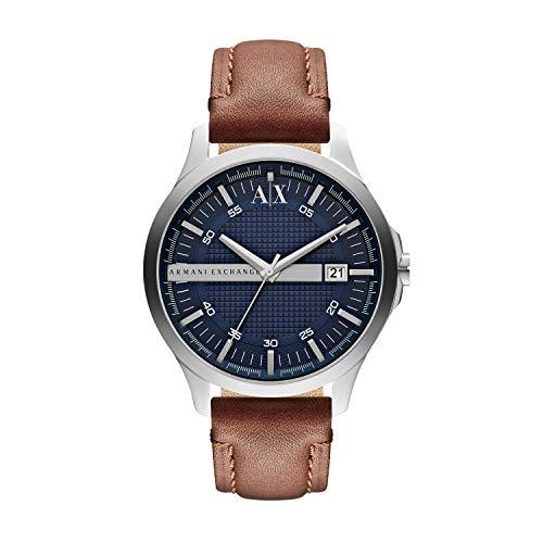 Armani Exchange Reloj Analogico para Hombre de Cuarzo con Correa en Piel AX2133