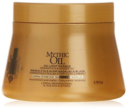 L'Oréal Professional Mythic Masque d'huile pour cheveux normaux à fins 200 ml