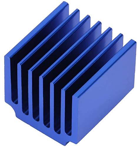 FTVOGUE 10 pz Q14.5 * 13 * 15 Dissipatore di Calore in Alluminio Blu Radiatore di Raffreddamento Dissipatore di Calore Dissipatore di Raffreddamento Aletta di Raffreddamento per Scheda Madre Chip