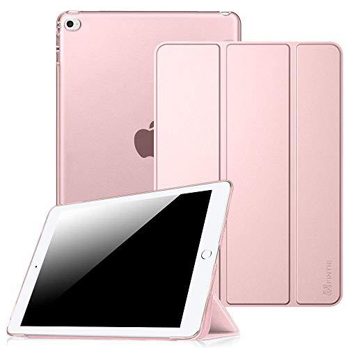FINTIE Custodia Cover per iPad Mini 4, Ultra Sottile Leggero Case Posteriore Trasparente con Funzione Auto Svegliati/Sonno per iPad Mini 4 (2015 Versione), Oro Rosa