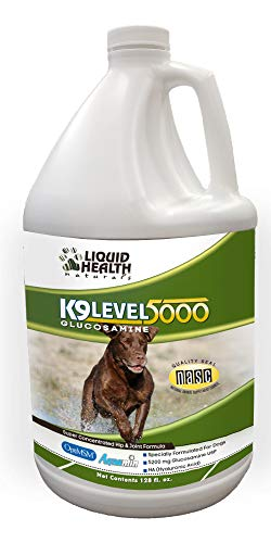 Liquid Health K9 Level 5000 Concentrated Dog Glucosamine Joint Supplement by Liquid Health