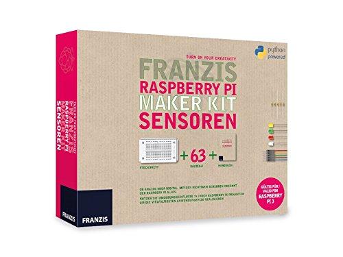 FRANZIS Raspberry Pi Maker Kit Sensoren: Ob analog oder digital, mit den richtigen Sensoren erkennt der Raspberry Pi alles. Nutzen Sie ... | Gültig ... Steuern und Regeln mit dem Raspberry Pi