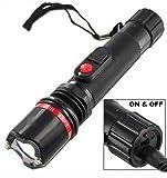Terminator Stun Gun Ultra Powerful Flashlight Stun Gun With Bright LED Flashlight Heavy Duty Rechargeable