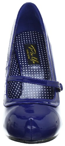 Pin Up Couture CUTIEPIE-02 Damen Pumps, Blau (Navy blue pat), EU 40 (UK 7) (US 10) - 2