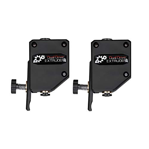 Iverntech 2 Pack Upgraded Dual Drive BMG Extruder for CR10,Ender 3 Series, Anycubic Mega S, Tevo Tornado, Wanhao D9, Anet A8 E10 and Prusa I3 DIY 3D Printer