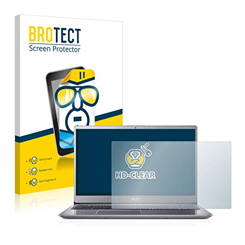 BROTECT Schutzfolie kompatibel mit Acer Swift 3 SF315-52 klare Bildschirmschutz-Folie