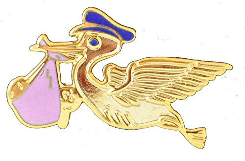SafetyStore Pink Stork Pins - 10 Count