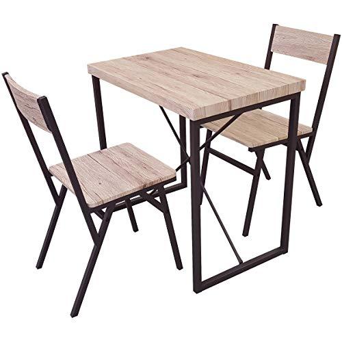 Promobo - Table Et 2 Chaises Collection Loft Dock Bar