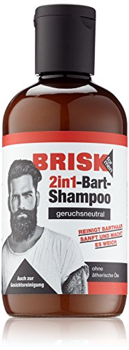 BRISK Bartshampoo 2in1 1er Pack (1 x 150 ml)