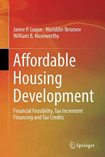 Compare Textbook Prices for Affordable Housing Development 1st ed. 2019 Edition ISBN 9783030040635 by Luque