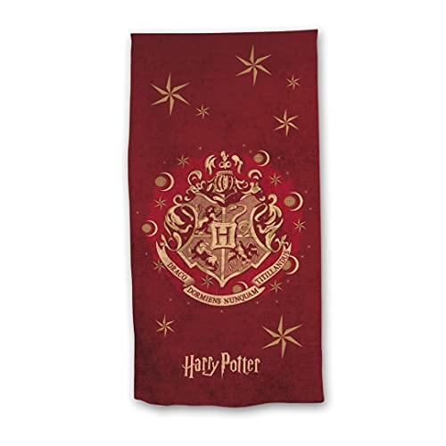 Harry Potter Kids Beach Towel Draco - Red - 70x140 cm