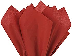 Scarlet Red Tissue Paper Squares, Bulk 24 Sheets, Premium Gift Wrap and Art Supplies for Birthdays, Holidays, or Presents ...
