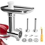 Metal Food Grinder Attachment for KitchenAid Stand Mixers...