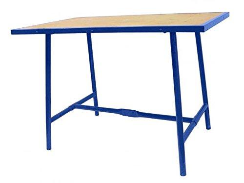Klappwerkbank blau 1000x700x30 mm