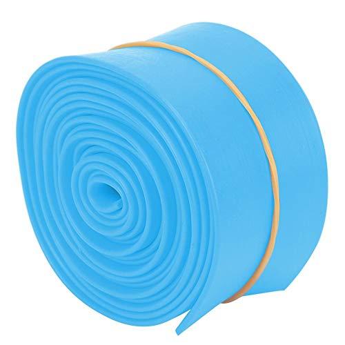 AMONIDA Umweltfreundliches Spannband, Trainingsmuskeln Starke Belastbarkeit Sport-Spanngurt, 5 cm 2,5 m Körperform Aufbau Yoga praktizieren für(5cm 2.5m Tension Belt-Blue)