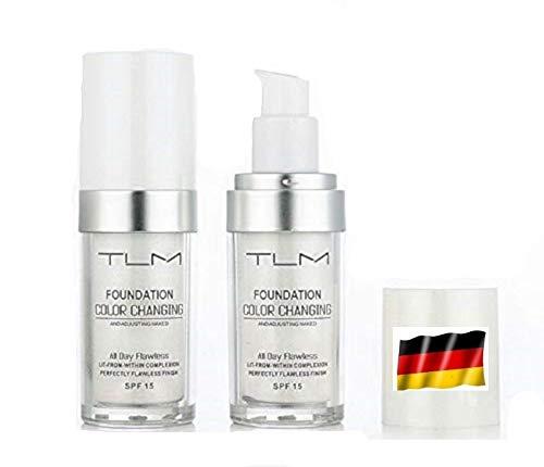 TLM Concealer Cover Abdeckung Farbwechsel Flüssige Grundierung Flawless All-In-One Foundation Color Changing Langhaltend Change Make up