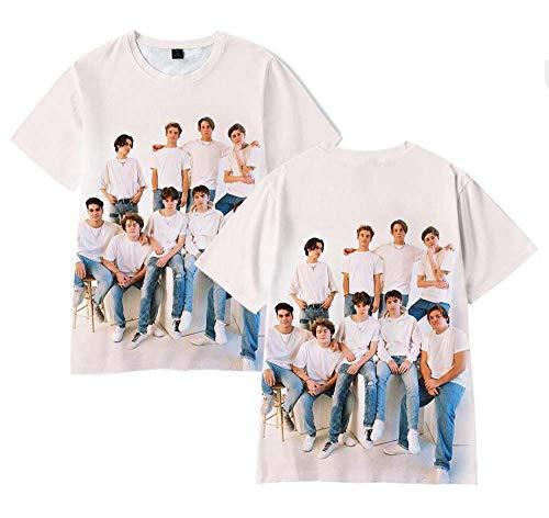 LYJNBB La Maison Hype à Manches Courtes T-Shirts Unisexe, Fan vidéo Vêtements d'équipe Vêtements 3D Imprimer XSXXXL,2,XXXL