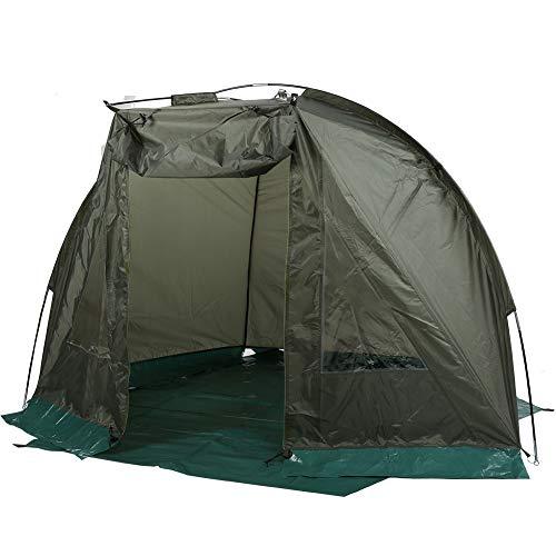Estink Angelzelt im Freien, Tragbares Winddicht Wasserdicht Camping Zelt, für 1-2 Personen, mit Fenster, Einfache Installation, 215 x 121 x 118 cm, mit Tragetasche
