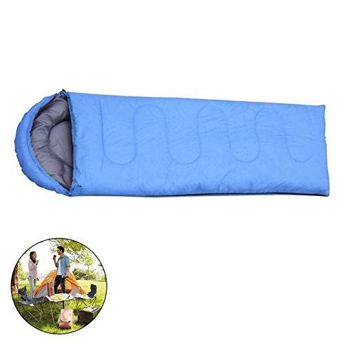 MorNon 210x75cm Schlafsack Frozen - 23°C Zelt Outdoor Camping Warm Schlafsack Bag Ultralight Schlafsäcke Blau