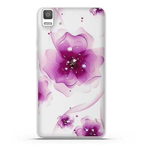 Fubaoda Caso E5 Aquaris bq, patrón 3D Relieve Hermosa flor TPU suave de la caja...