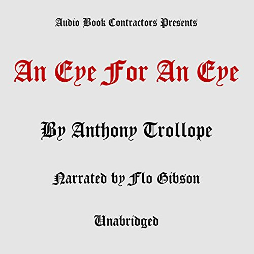 An Eye for An Eye audiobook cover art