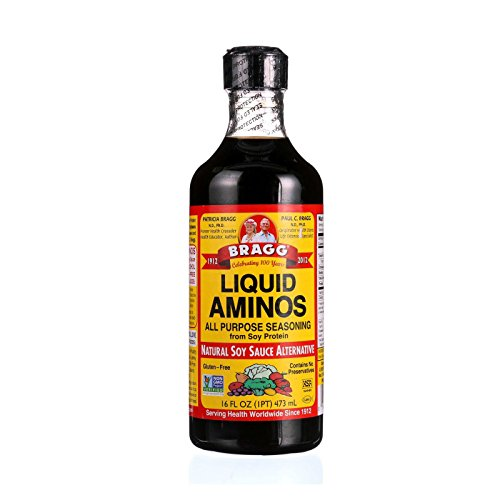 Bragg 74305000164 Natural liquid amino, volume 16oz