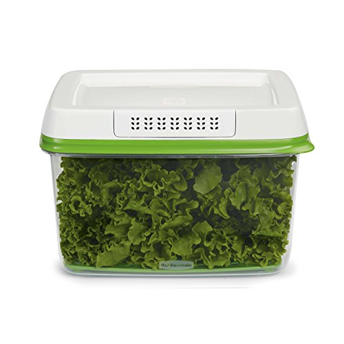 Rubbermaid 1920479 17.3Cup Produce Container, 17.3 Cup, Green