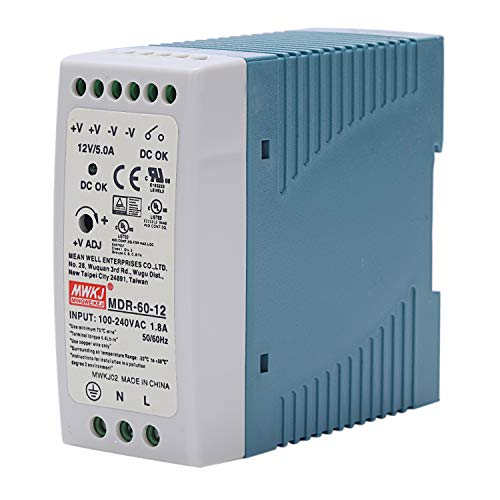 JISKGH MDR-60 12V 60W Din Fuente de Alimentación de Carril Ac/Fuente de Alimentación Del Regulador de Voltaje Del Conductor 110V 220V