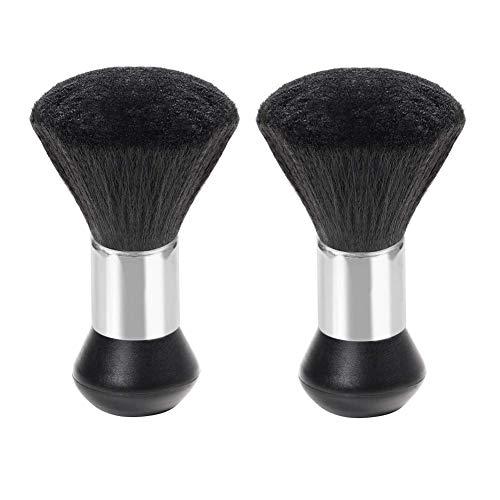 YHTSPORT Cepillo de Cuello para barbero - Brocha de Peluquería, Salón, Peluquero - para Eliminar los Residuos del Cabello(2pcs)